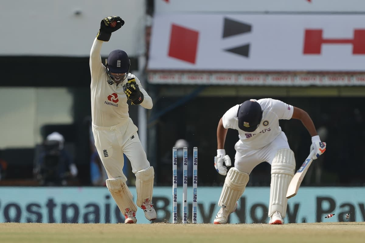 Cricket Image for Ben Foakes Impresses With His Wicket-Keeping Skills At 'Tricky' Chennai Pitch