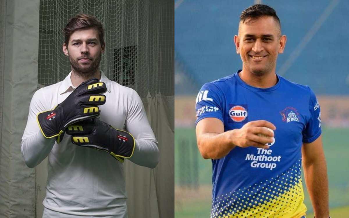Cricket Image for VIDEO : क्या फोक्स को धोनी ने दी है ट्रेनिंग ? इंग्लिश विकेटकीपर का ये कैच देखकर उ