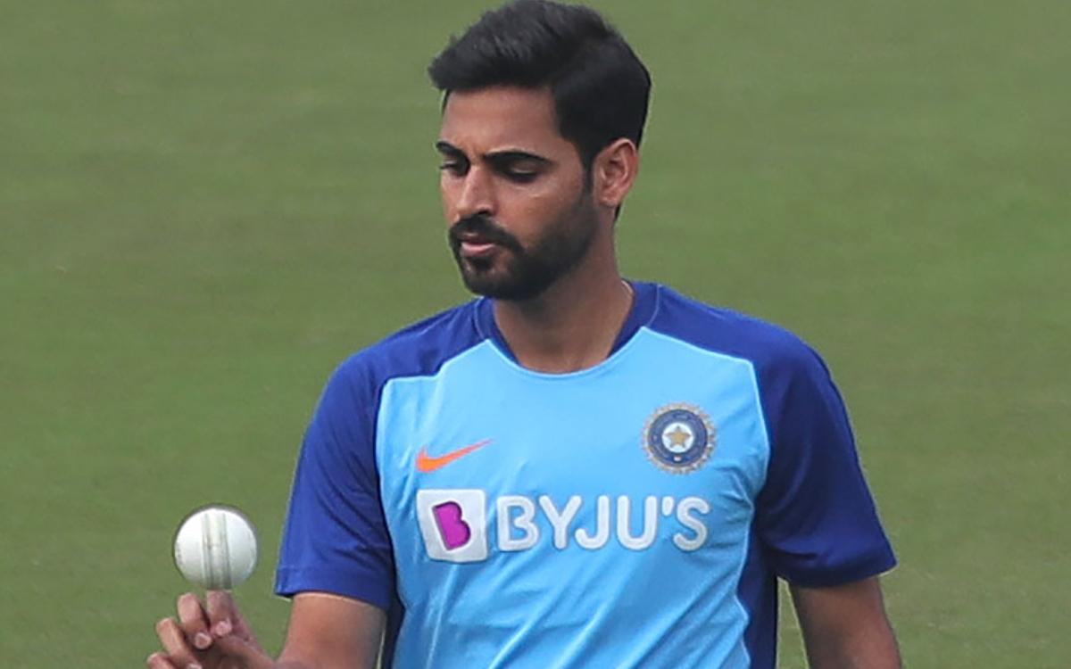 Cricket Image for इंग्लैंड के खिलाफ वनडे सीरीज से पहले टीम इंडिया के लिए खुशखबरी, भुवनेश्वर कुमार कर