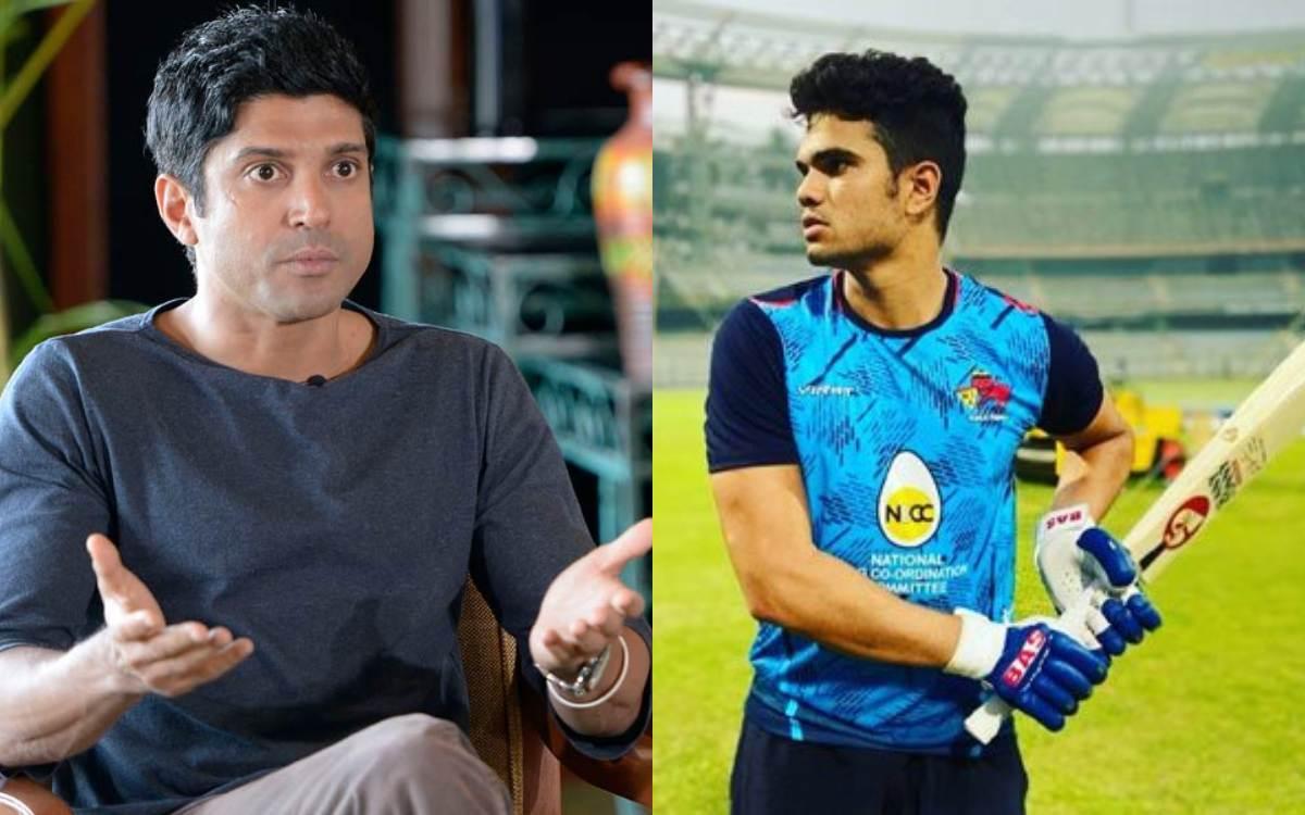 Cricket Image for  Farhan Akhtar Reacts After Sachin Tendulkar Son Arjun Trolled For Nepotism