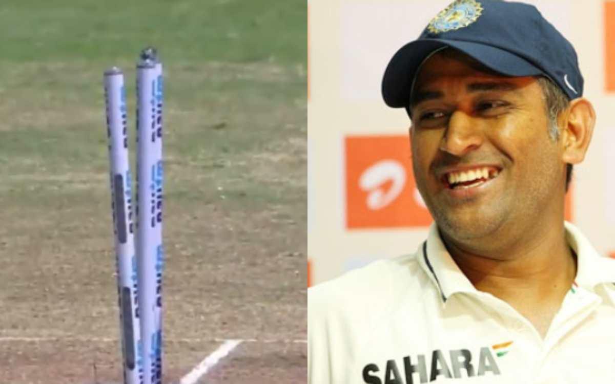 Cricket Image for 'लगता है चेन्नई में धोनी की आत्मा घूम रही है ', इशांत शर्मा के हिट-विकेट ड्रामा के