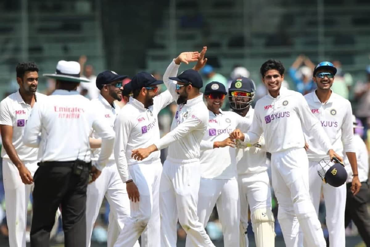 Cricket Image for Chennai Test: India Beat England By 317 Runs, Series Level 1-1