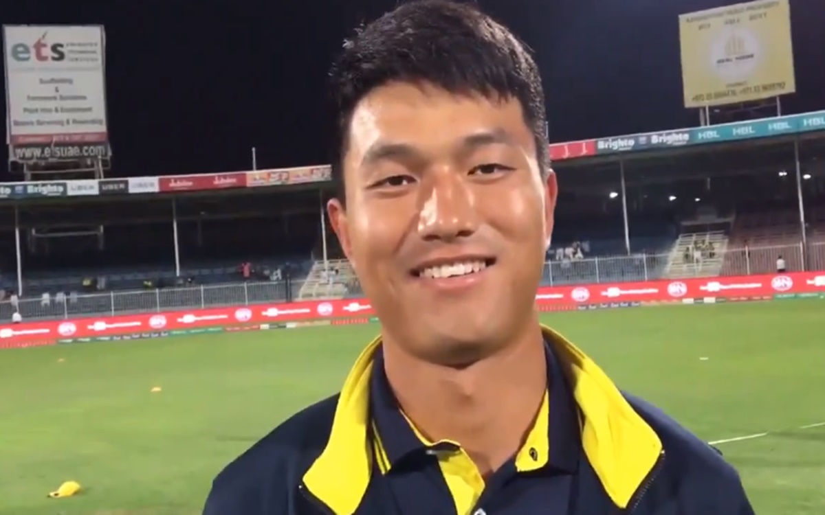 Cricket Image for Chinese Cricketer Zhang Yufei Says Cricket In China Is Called Baancho