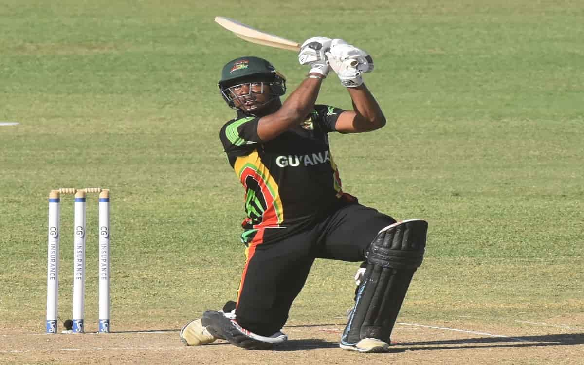 Cricket Image for Chris Barnwell Hits Career-Best 107 As Guyana Jaguars Move Atop Table