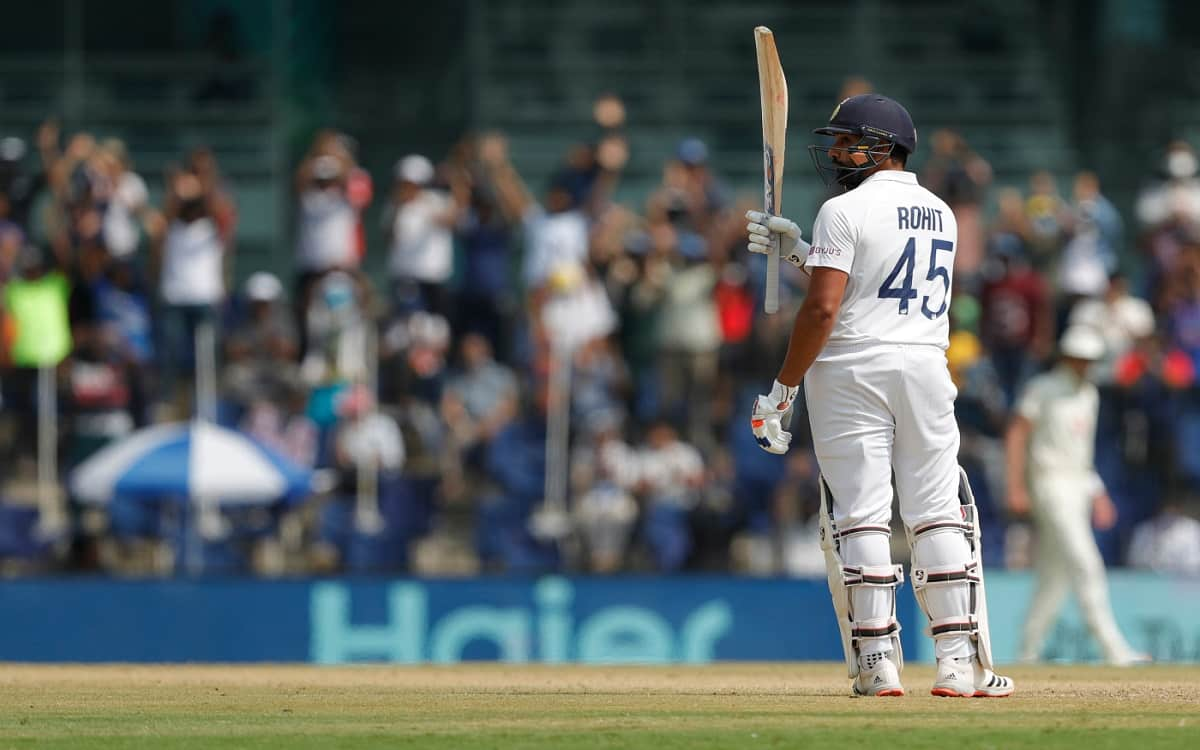 Cricket Image for Ind Vs Eng Rohit Sharma Expressed Happiness Regarding Audience On The Indian Field