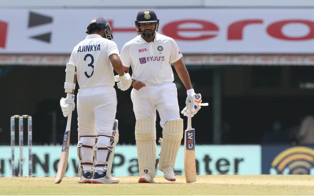 Cricket Image for Ind Vs Eng Rohit And Rahanes Partnership Put India In Strong Position At Test Cric