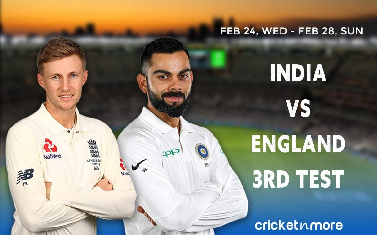 Cricket Image for IND vs ENG 3rd Test – Fantasy Cricket XI Tips, Pitch Report & Probable Playing XI