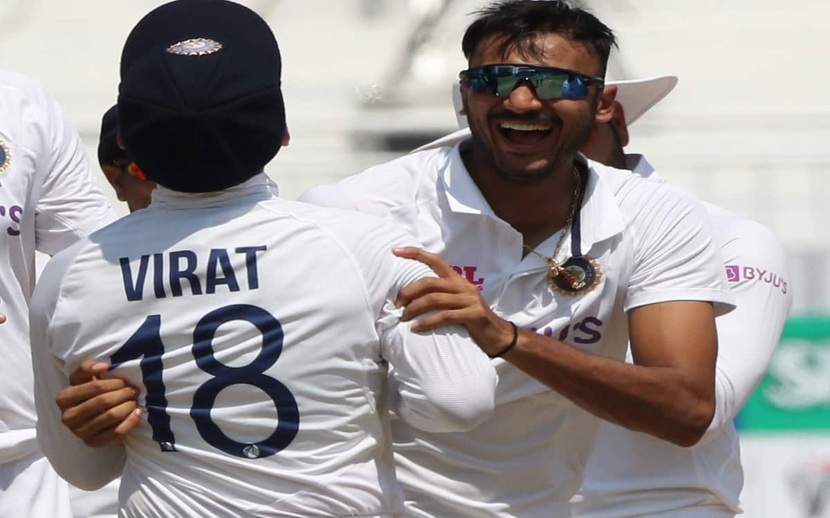 Cricket Image for Ind Vs Eng According To Coach Fathers Biggest Contribution To Axar Patels Success