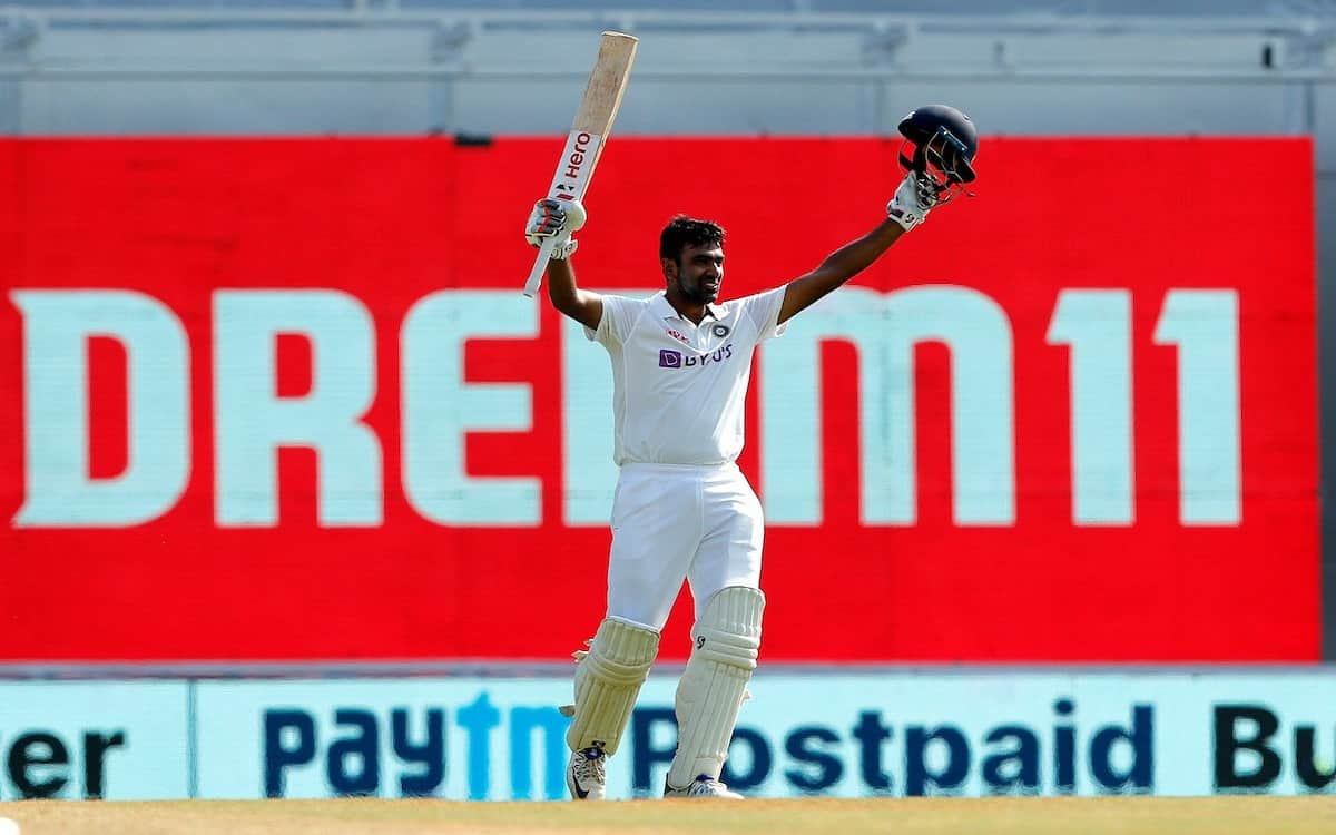 Cricket Image for Ind Vs Eng Ashwin Lashed Out In Chepauk A Torrent Of Records On His Home Ground By