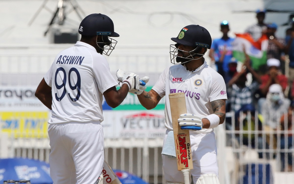 Cricket Image for Ind Vs Eng Ashwins Century Helps India To Set A Big Target For England Team Needs