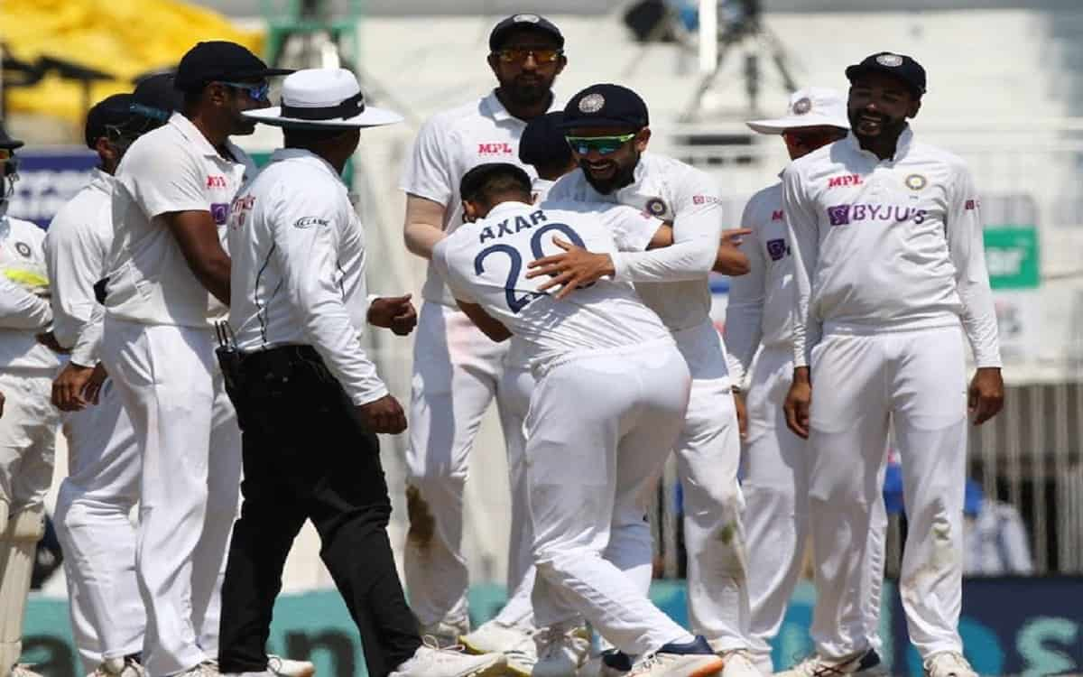Cricket Image for Ind Vs Eng England Team Get Biggest Defeat In Asia By Indian Cricket Team