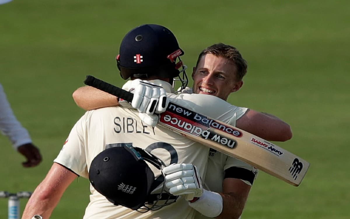 Cricket Image for Ind Vs Eng: England's Root And Sibley show up Extraordinary Partnership on First D