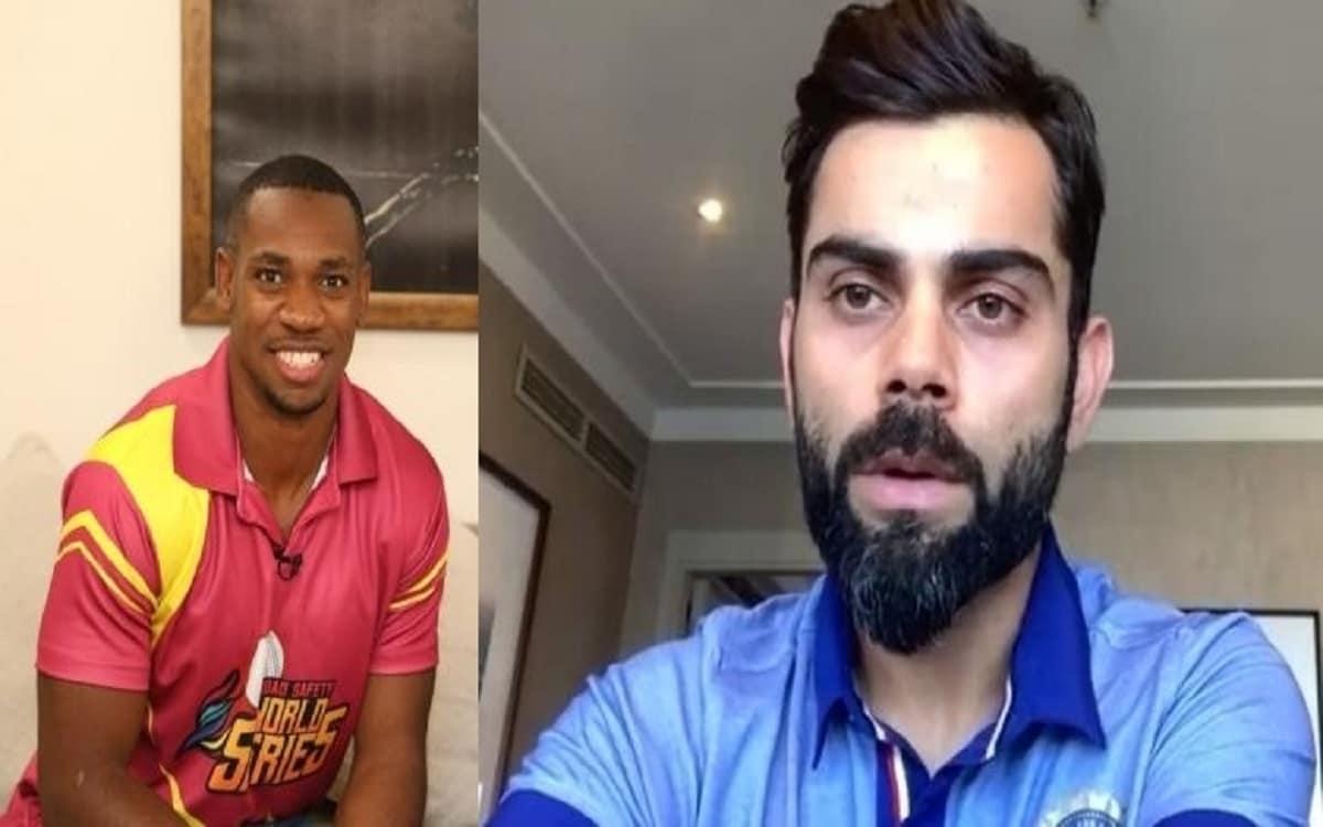 Cricket Image for Ind Vs Eng Sprinter Yohan Blake Praised Virat Kohli Said Taking Responsibility For