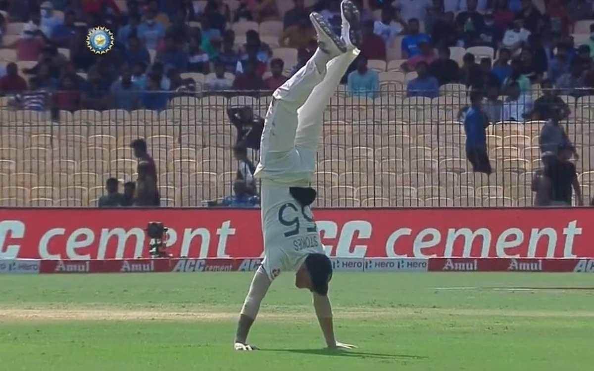 Cricket Image for VIDEO : 'फिटनेस हो तो बेन स्टोक्स जैसी', ना बल्ले से, ना गेंद से; इंग्लिश ऑलराउंडर