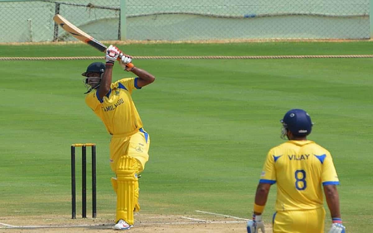 Cricket Image for Viajay Hazare Trophy: Jagadeesan, Aparajith, Star In Tamilnadu Win In Vijay Hazare