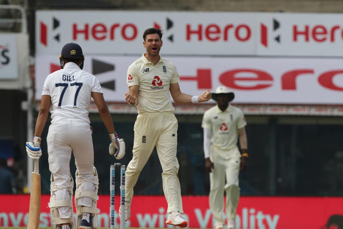 Cricket Image for 'It Was Huge For Us': Anderson Credits This Which Led England's Win Over India