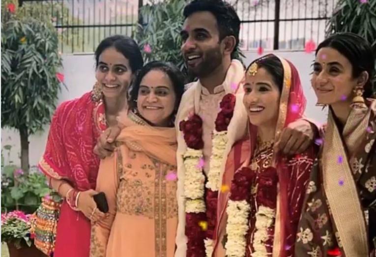 Cricket Image for Jayant Yadav Marries Disha Yuzvendra Chahal Share Pics