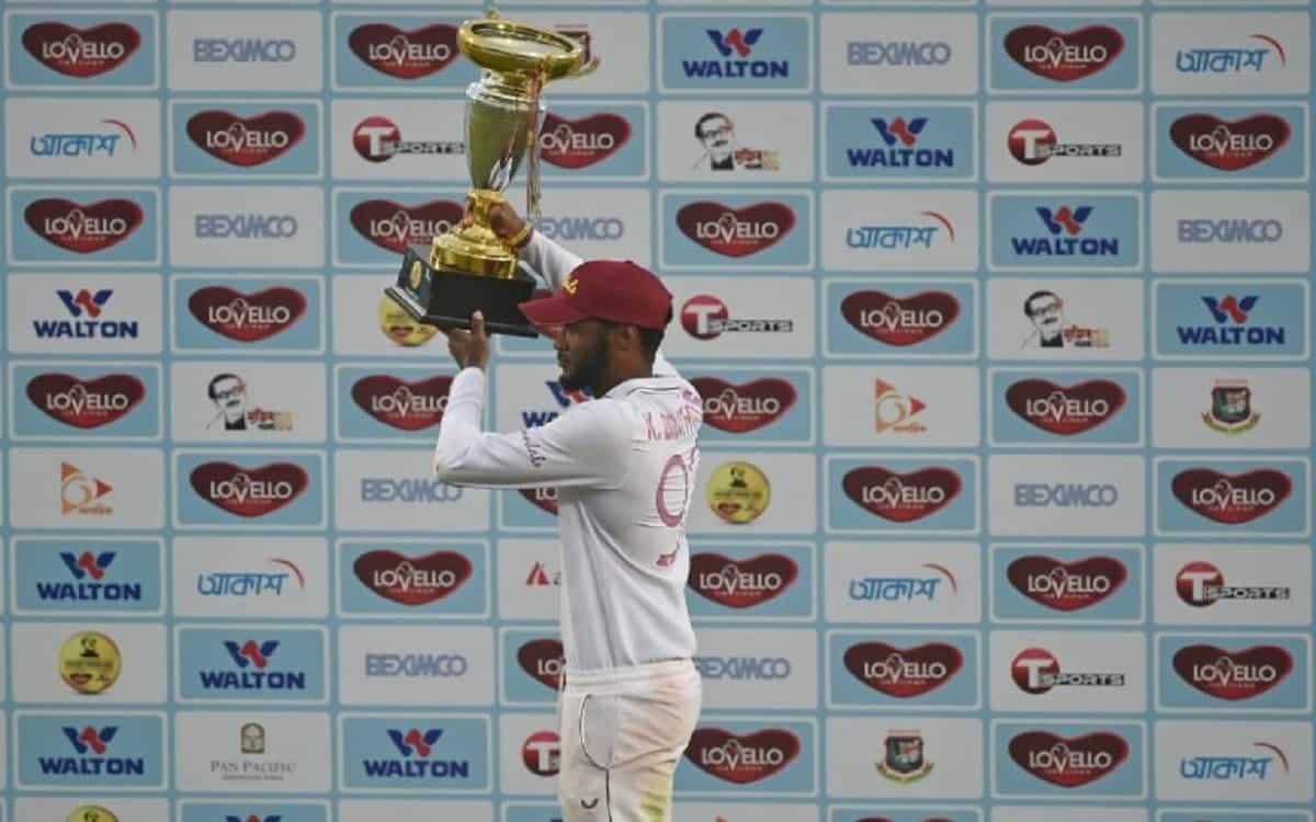 Cricket Image for BAN vs WI: Brathwaite Hails West Indies 'Hunger' After Depleted Side Sweeps Ban