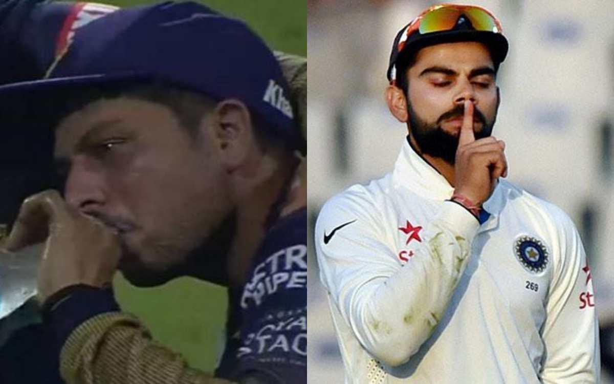 Cricket Image for 'क्या मैं इतना बुरा हूं विराट', कुलदीप यादव को बाहर करने पर फैंस ने विराट पर निकाल
