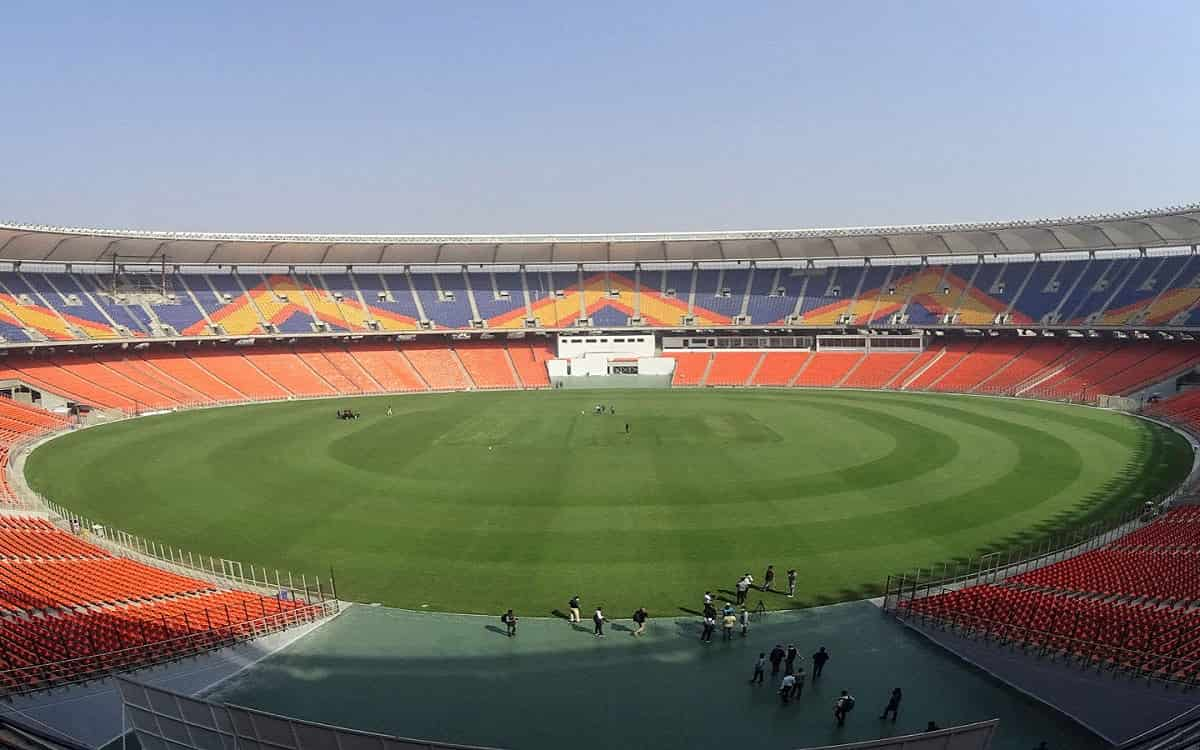 Cricket Image for Motera Stadium Gears Up For T20 Double-Headers