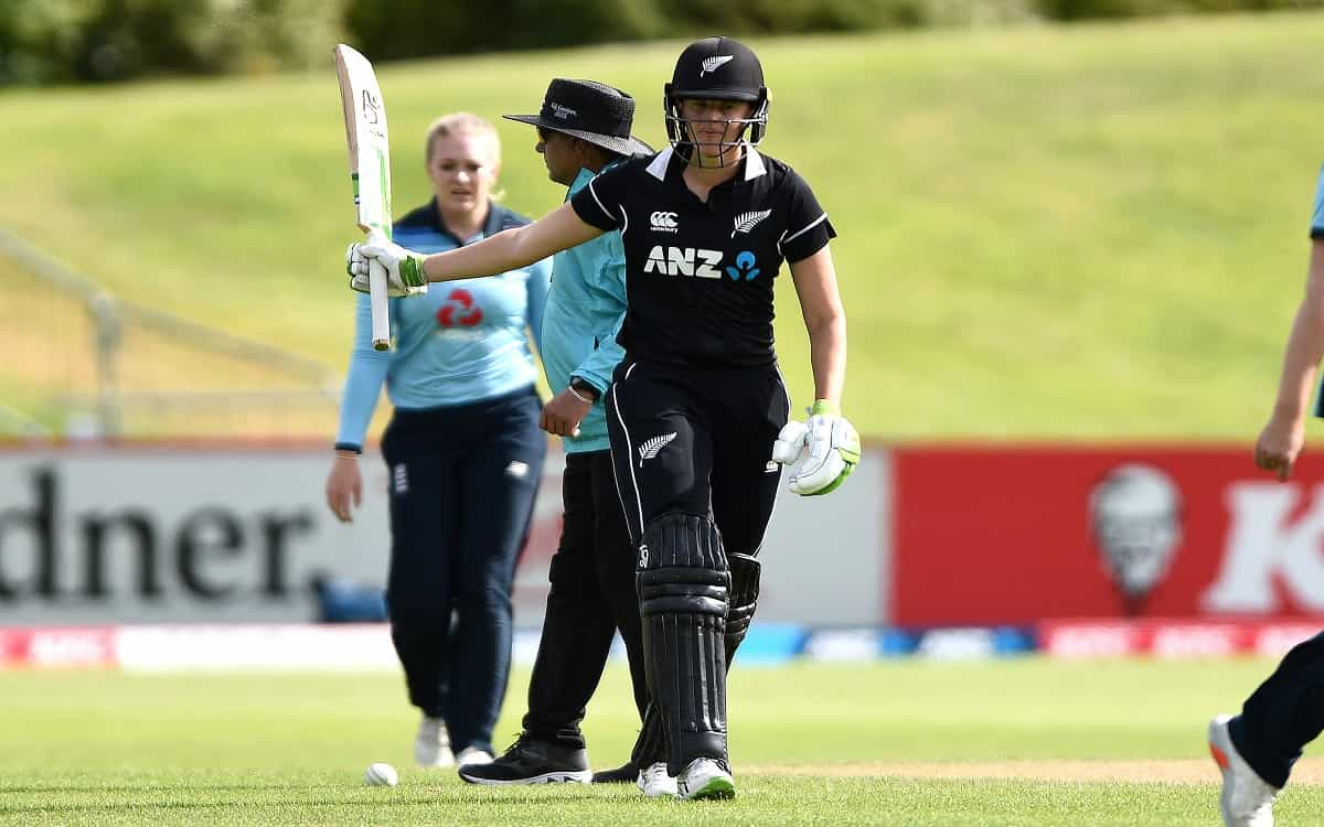 Cricket Image for New Zealand Beat England Womens Team By 7 Wickets With Amy Sethravets Century Inni