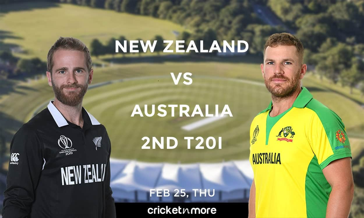 Cricket Image for NZ vs AUS, 2nd T20I – Fantasy Cricket 11 Tips, Prediction & Probable Playing 11