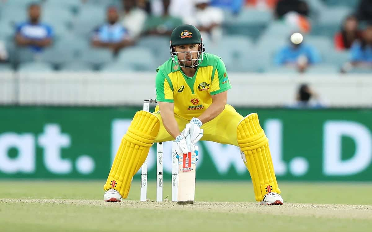 Cricket Image for  Kangaroo Captain Aaron Finch Trying To Achieve The Old Rhythm In Batting