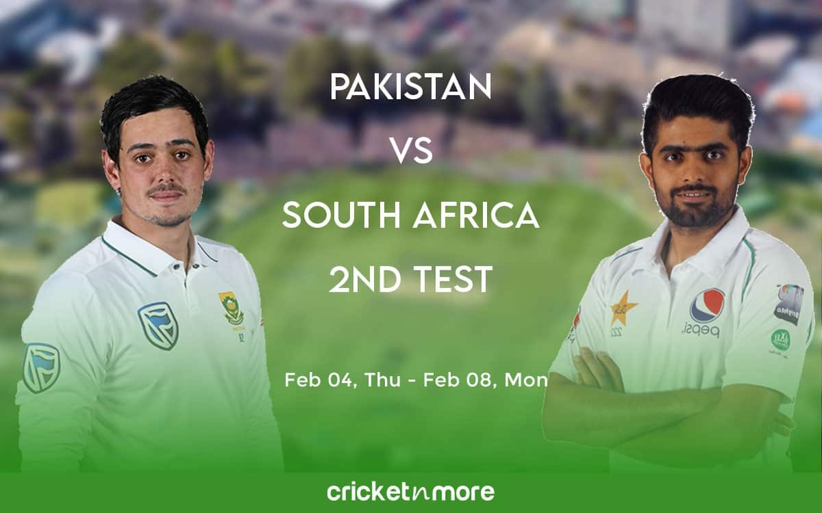 Cricket Image for Pakistan vs South Africa, 2nd Test – Fantasy Cricket XI Tips, Prediction & Probabl
