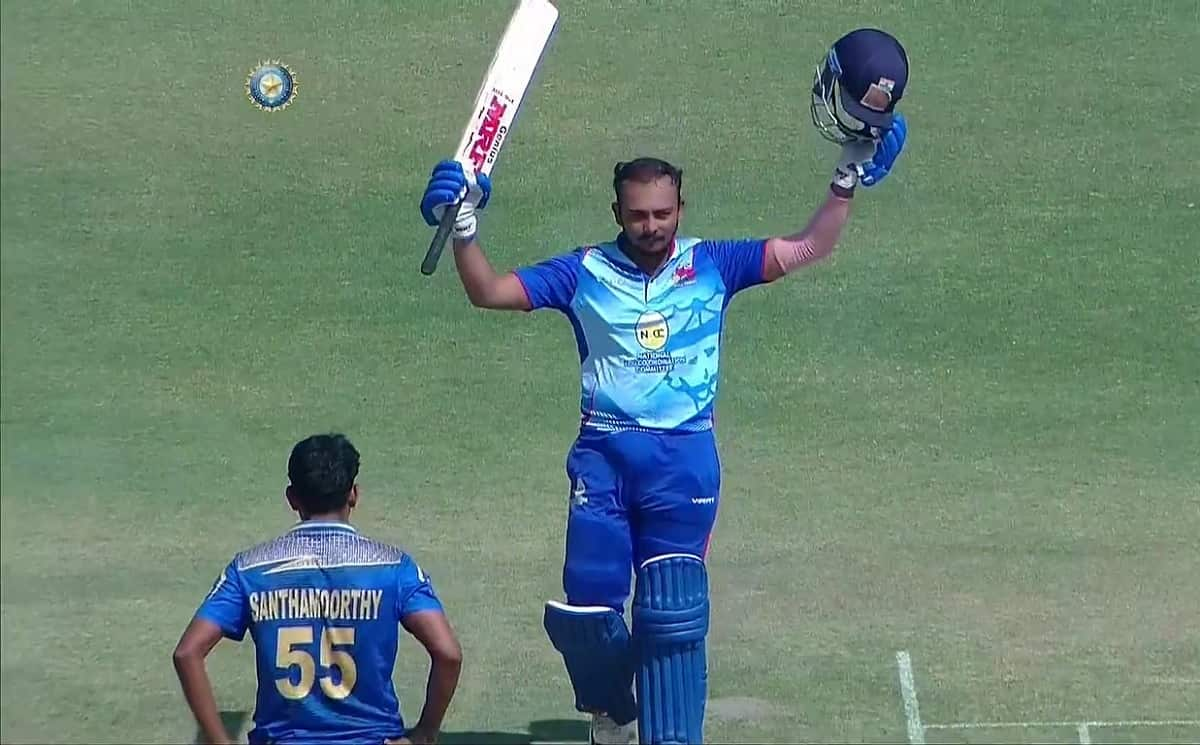Cricket Image for Records Made by Prithvi Shaw As He Hit Double Ton In Vijay Hazare Trophy