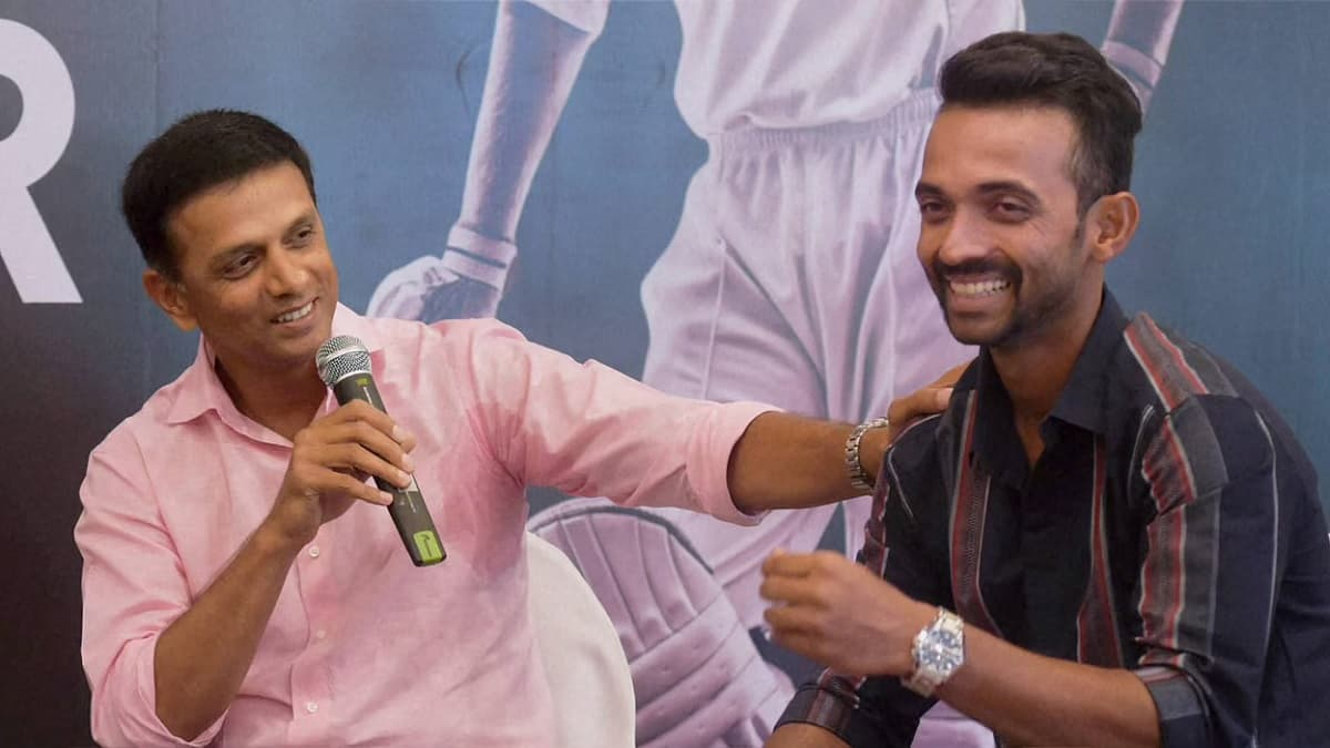 Cricket Image for Rahane Reveals Dravid's Advise Before Leaving For Australia Tour