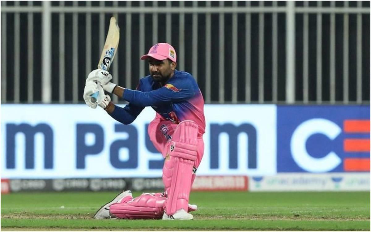 Cricket Image for 'जमकर तबाही मचा रहा है तेवतिया का बल्ला', भारतीय टीम में सेलेक्शन होने के बाद खेली