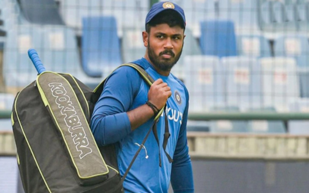 Cricket Image for Rajasthan Royals Captain Sanju Samson Dropped For England T20 Series