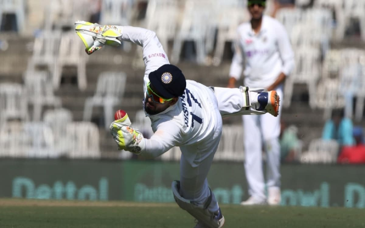 Cricket Image for IND vs ENG: Rishabh Pant's Wicketkeeping Ability Takes Centre Stage With Two Stunn