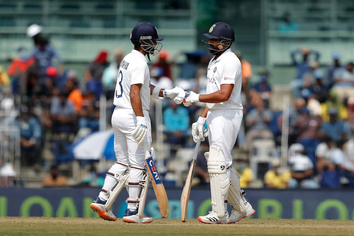 Cricket Image for 2nd Test: Rohit Helps India Reach 300/6 On Day 1 Against England