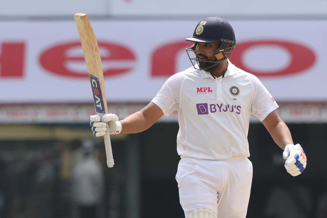 Cricket Image for IND vs ENG: Rohit Sharma Brings 'Sweep' Timing Into Play For Big Ton