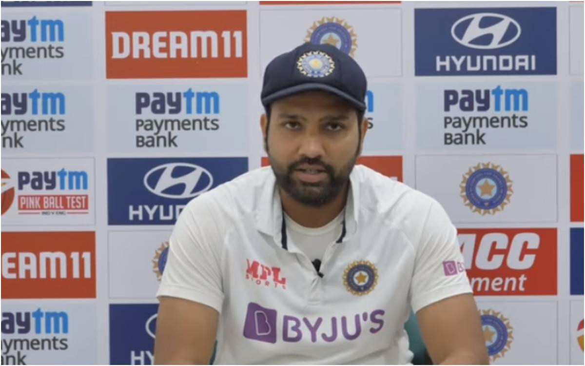 Cricket Image for 'पिच पर कोई भूत नहीं था बस आपको ज़ज्बा चाहिए था', रोहित शर्मा ने पिच की आलोचना