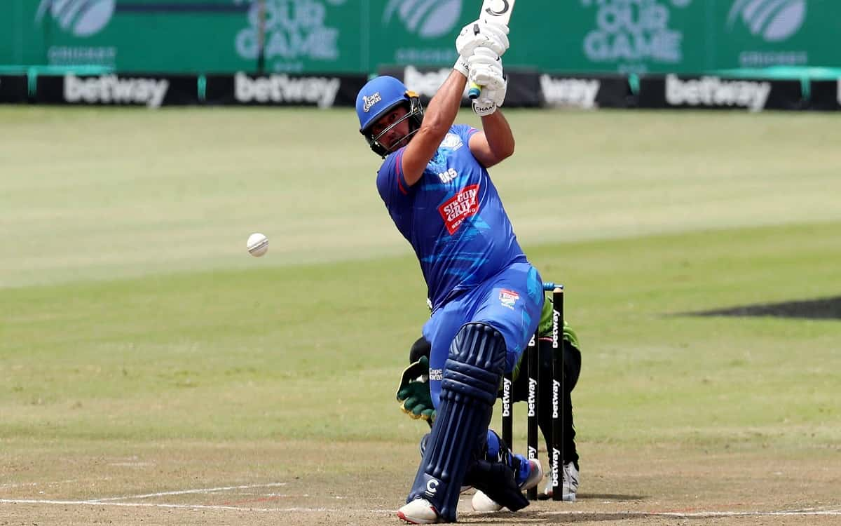 Cricket Image for SA T20 Challenge: George Linde Helps Cobras Get Off Mark With Warriors Win
