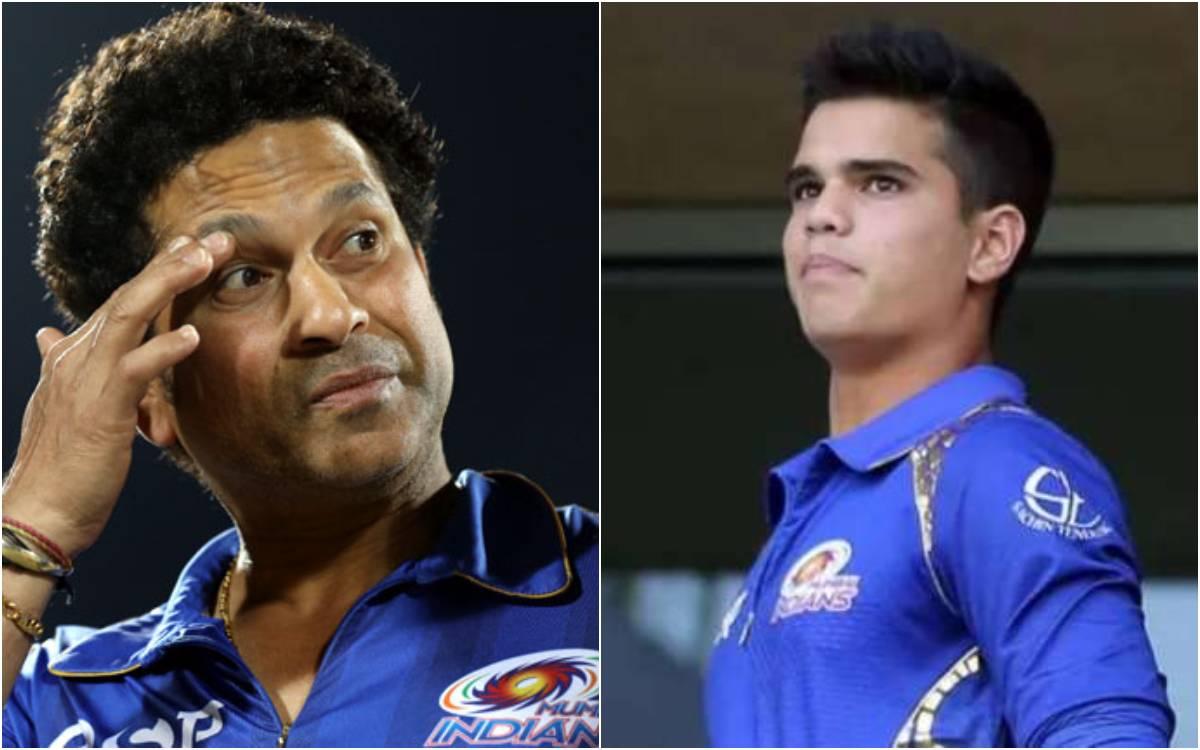 Cricket Image for VIDEO : 'अर्जुन बेटा तुम अपना फोकस मत हटने देना', अपने बेटे की आलोचना पर सचिन