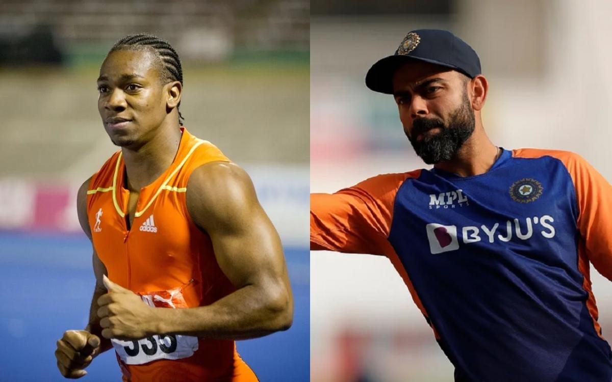 Cricket Image for Sprinter Yohan Blake Praises Virat Kohli's Captaincy