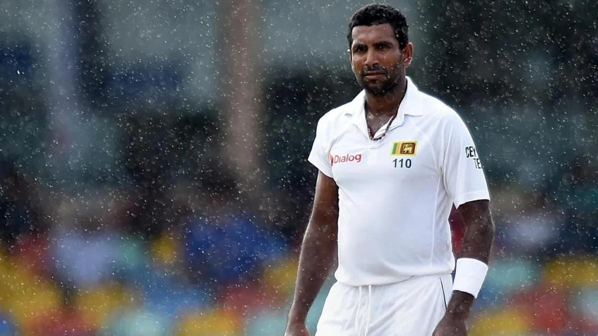 Cricket Image for Sri Lanka's Dhammika Prasad Announces Retirement From International Cricket