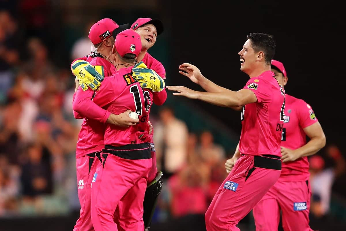 Cricket Image for Sydney Sixers Beat Perth Scorchers To Win 3rd BBL Final