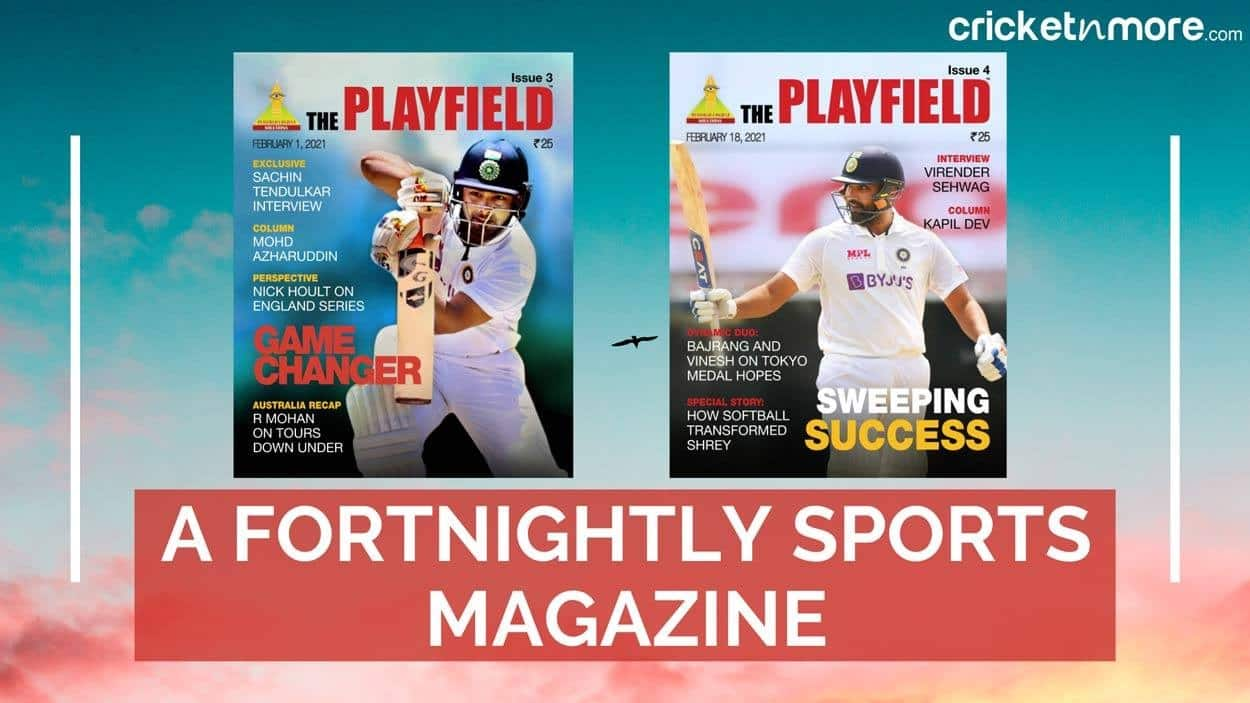 Cricket Image for The Playfield - Sports Journalists Come Together For A Cause