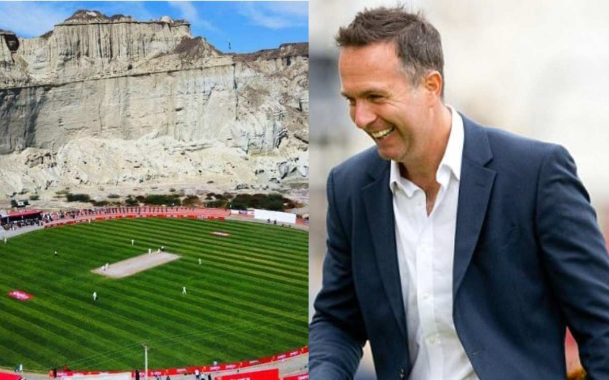 Cricket Image for 'Stunning': Vaughan Takes A Dig At Chennai Pitch, Shares Image Of Pak Stadium