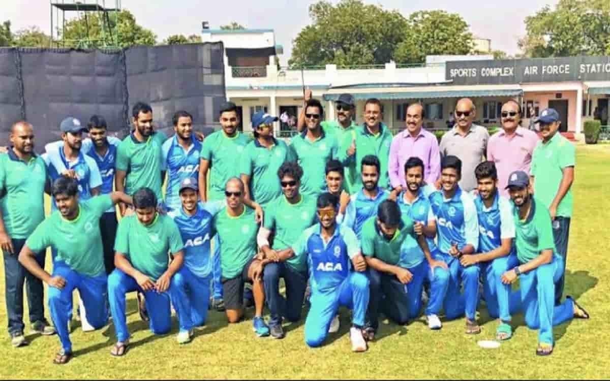 Cricket Image for Vijay Hazare Trophy Andhra Pradesh Beat Tamil Nadu By 7 Wickets