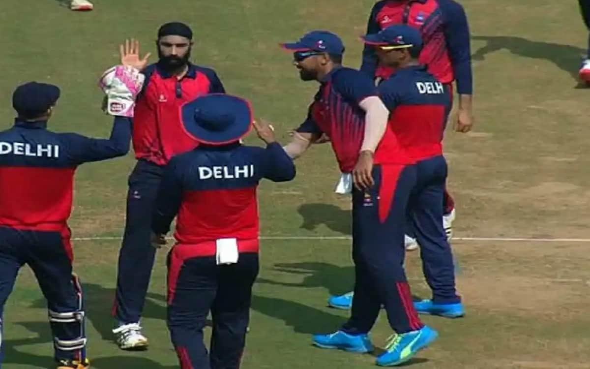 Vijay Hazare Trophy: Delhi's first win in tournament by defeating Puducherry by 179 runs