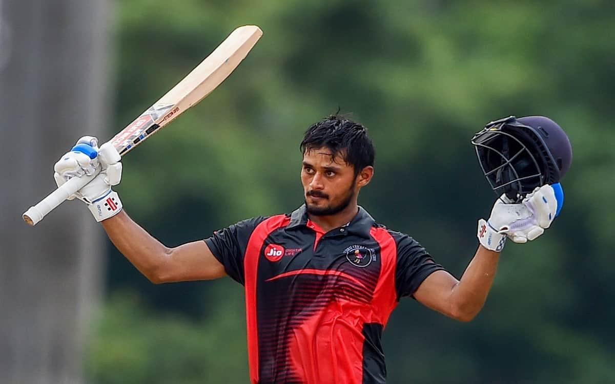 Cricket Image for Vijay Hazare Trophy Gujarat Win By 8 Wickets Against Goa