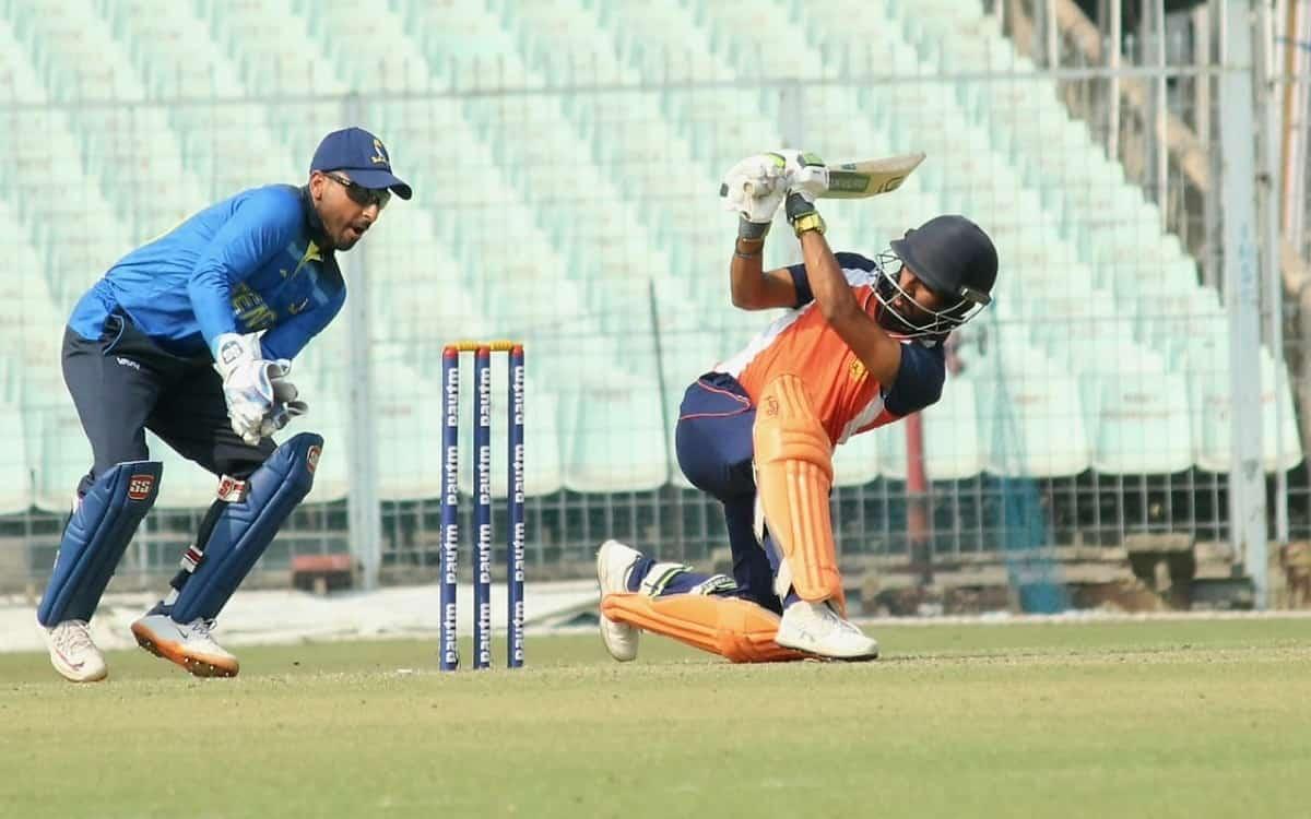 Cricket Image for Vijay Hazare Trophy: Minnows Chandigarh Stun Bengal (Today's Roundup)