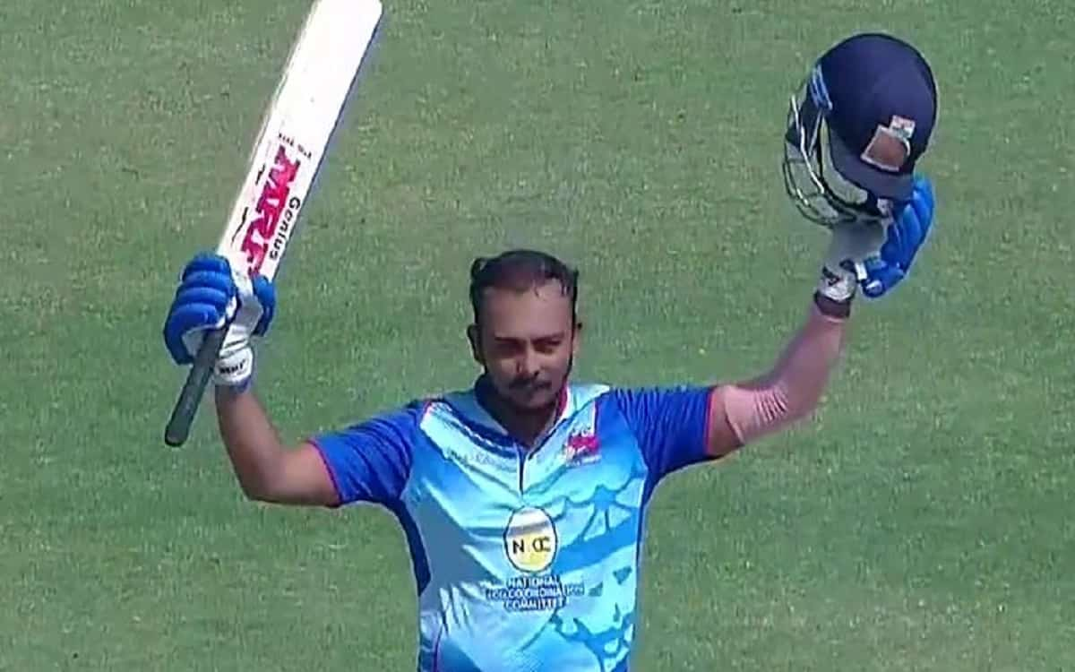 Vijay Hazare Trophy: Prithvi Shaw became the 8th Indian batsman to hit double Century in one day Cricket