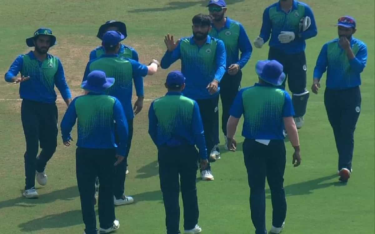 Vijay Hazare Trophy: Services win by 112 runs after defeating Haryana in the tournament