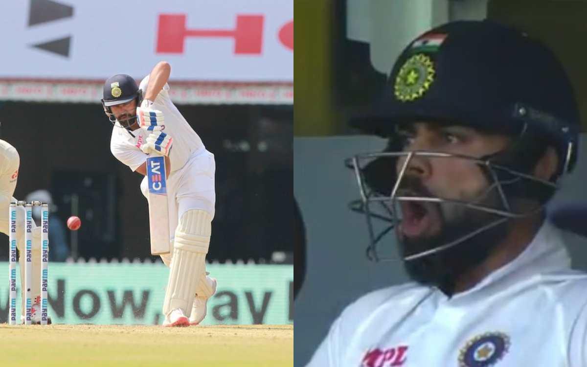 Cricket Image for VIDEO:  'Yes Boy' जब रोहित शर्मा ने खोला चौके से टीम इंडिया का खाता, ड्रेसिंग रूम